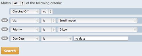 メール登録されてしまったゴミタスク