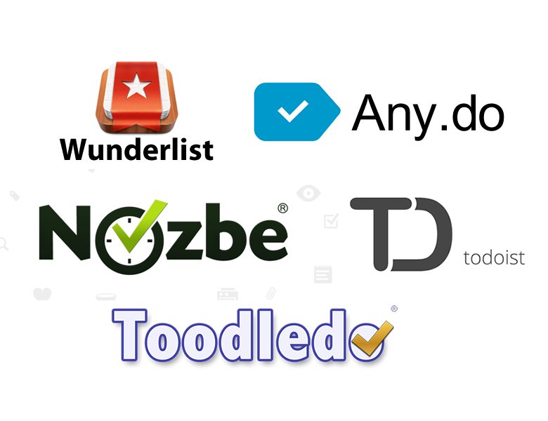 wunderlist_anydo_nozbe_todoist_toodledo
