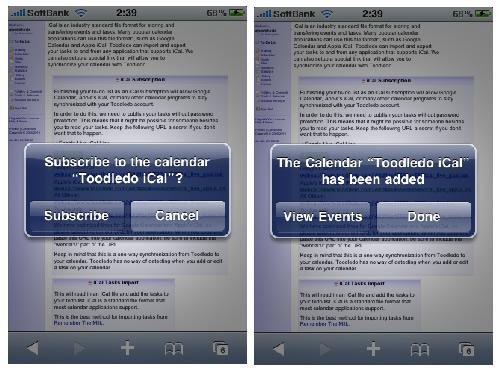 iPhoneのカレンダーとToodledoをほぼリアルタイムに同期させる【iCal利用、一方通行】-3